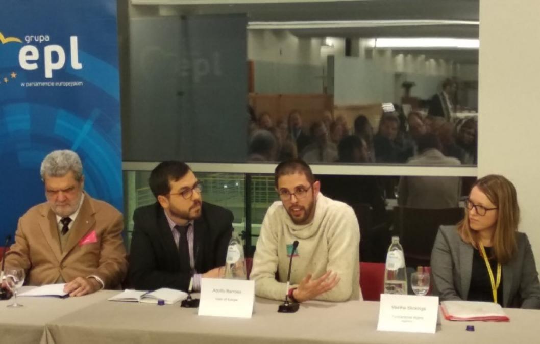 Adolfo Barroso en Bruselas