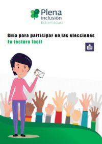 portada Guía para participar en las elecciones. Plena inclusión Extremadura
