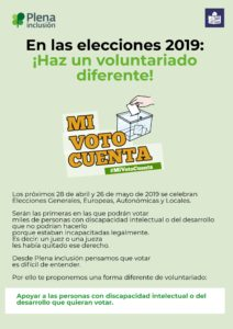portada folleto voluntariado en las elecciones