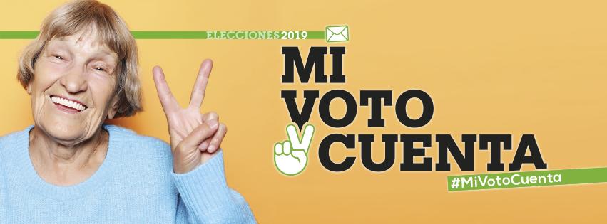 mi voto cuenta elecciones 2019