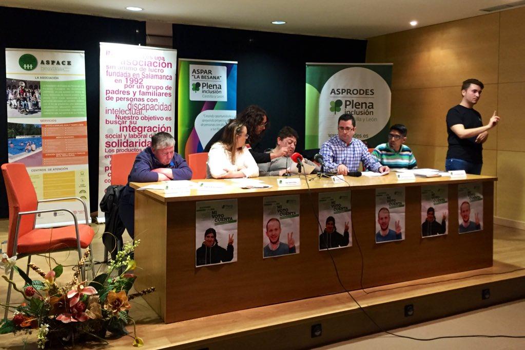 rueda de prensa en Salamanca
