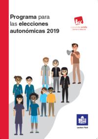 programa electoral CLM IU portada